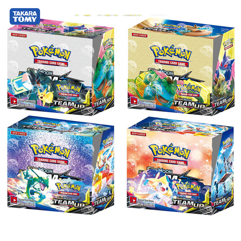 324pcs / Set Pokemon TCG English Edition Card Energy Card Prop Card Pokemon Lost Thunder Supplement Children Package Toy Gift
