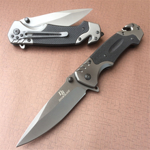 цена на 440c Tactical Folding Knife Pocket Outdoor Survival Hunting Camping Quick Open G10 Stainless Blade Knifes Knives