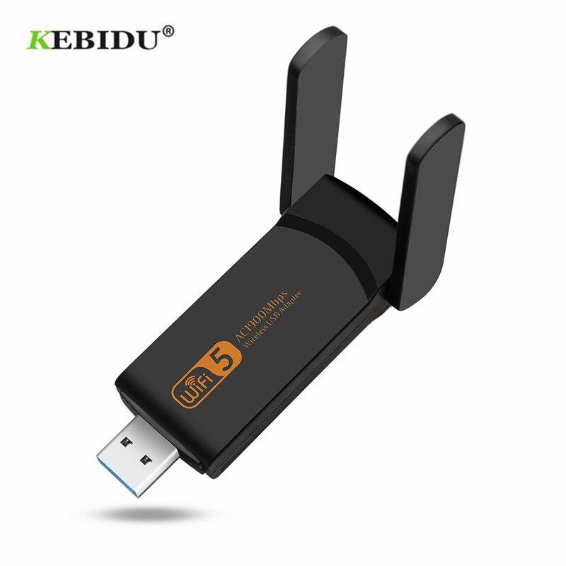 KEBIDU usb Wi-Fi адаптер 1900 Мбит/с двухдиапазонный 802.11ac/b/g/n 2,4 ГГц + 5,8 ГГц Wi-Fi ключ компьютер AC сетевая карта USB 3,0 антенна