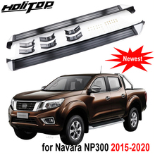 Pedals NISSAN for Navara Side-Step-Side-Bar Free-Drill-Hole Running-Board Aluminum-Alloy