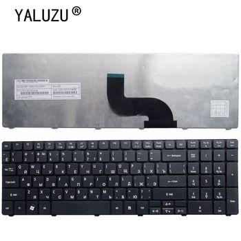 YALUZU Russian Laptop Keyboard For Acer Aspire 5560G 5560 (15'') 5551 5551g 5552 5552g 5553 5553g 5625 5736 5739 5741 for acer 5551 5252 5552 5742g 5742 palmrest c shell