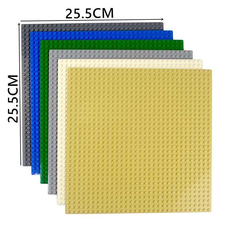 Kazi Classic Base Platen Plastic Bakstenen Grondplaten Compatibel Met Lego Afmetingen Bouwstenen Bouw Speelgoed 16*32 Dots