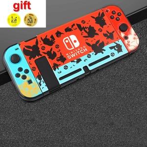 Image 3 - Marios Pokemons Nintend Schakelaar Harde Beschermhoes Shell Voor Nintendoswitch Ns Console En Controller Joy Con Direct Docking