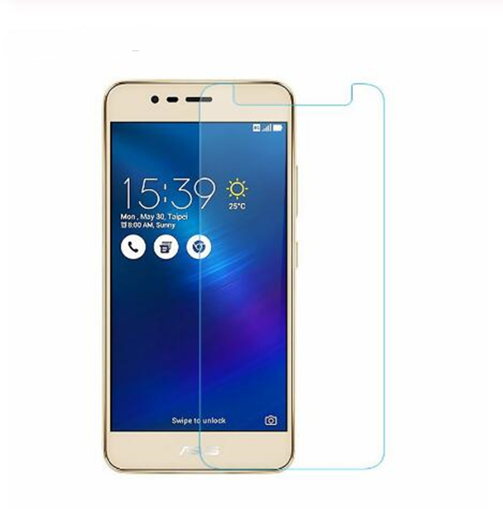 9H Premium Not full cover Tempered <font><b>Glass</b></font> For <font><b>Asus</b></font> <font><b>Zenfone</b></font> 3 Max ZC520TL <font><b>X008D</b></font> X008 5.2inch Protective Screen Protector Film image