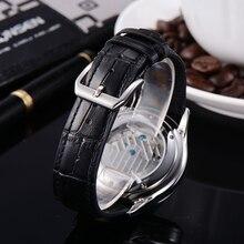 Corgeut 44mm fashion top brand mechanical  Luminous watch Black Dial leather strap automatic calendar&week Men Business clock
