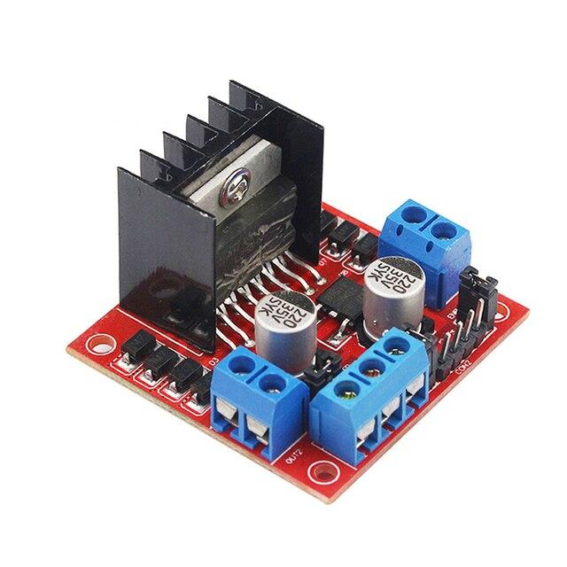 L298N Motor Driver Board Module L298 Stepper Motor Smart Car Robot Breadboard Peltier High Power