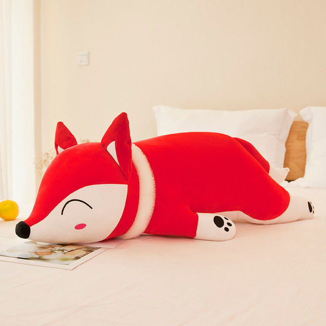 35-60cm Kawaii Dolls Stuffed Animals & Plush Toys for Girls Children Boys Toys Plush Pillow Fox Stuffed Animals Soft Toy Doll
