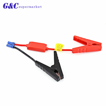 New 12V Car Jump Starter Emergency Jumper Cable Clamp Car Engine Booster Battery EC5 for Universal diy electronics image