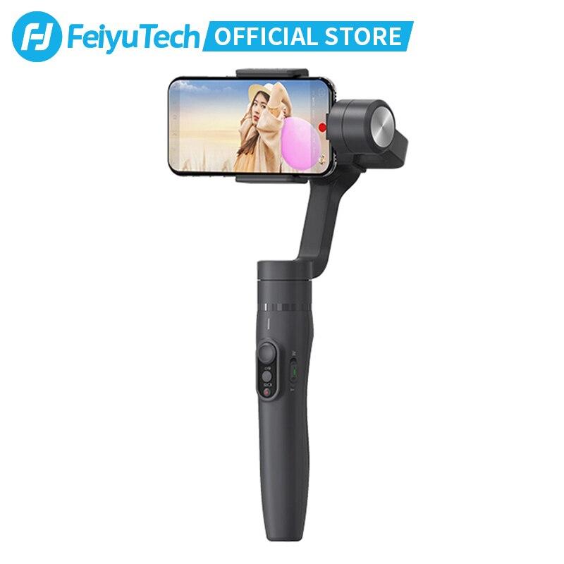 FeiyuTech Vimble 2 смартфон Gimbal 3 осевой Ручной Стабилизатор с 183 мм удлинитель Штатив для iPhone X 8 7 XIAOMI Samsung