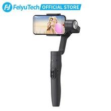 Feiyutech vimble 2 smartphone cardan 3 eixos handheld estabilizador com 183mm extensão pólo tripé para iphone x 8 7 xiaomi samsung