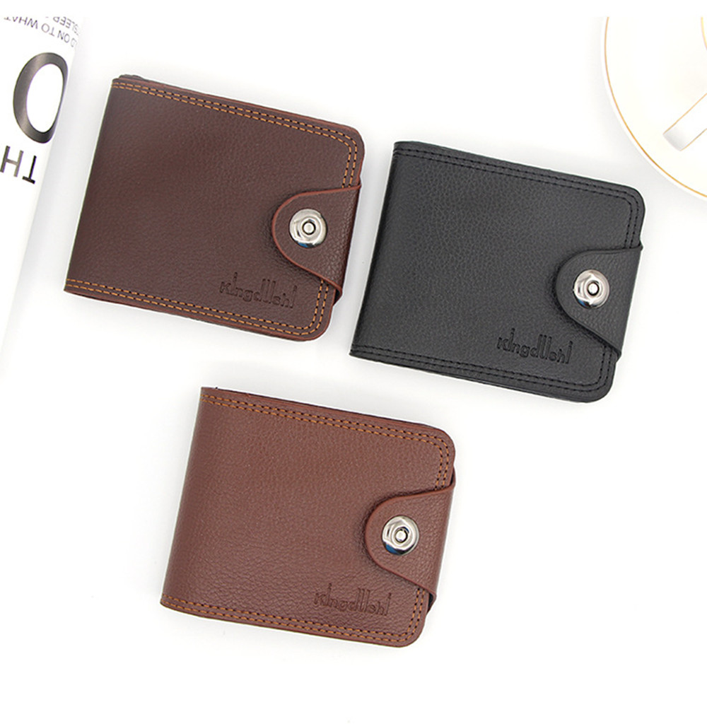 Credit Card Holder Wallet Man Leather Purse For Men Business Hasp Cards Clemence Wallets Male Pocket Brand Money Billfold Clutch