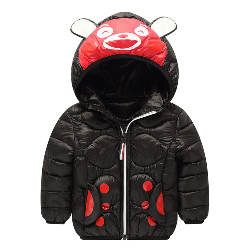 Toddler Baby Kids Boys Warm Winter Jacket Hoodies Outwear  Coat Clothes Hot