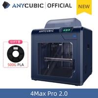 ANYCUBIC 4Max Pro 2.0 stampante 3D FDM fai-da-te con grande Volume di costruzione 270*210*190mm stampa 3D Impresora Ultra silenziosa completamente chiusa
