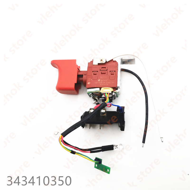Switch For METABO PowerMaxx BS 10.8V Quick Basic Professional 343410350 Power Tool Accessories Electric Tools Part