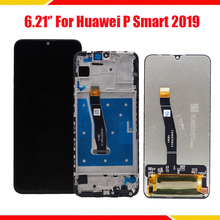 For Huawei P Smart 2019 LCD Display Screen Touch Digitizer Assembly For Enjoy 9s LCD Display Repair Parts 6 21original display for huawei p smart 2019 lcd display screen touch digitizer assembly p smart 2019 display repair parts tool