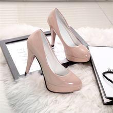 Женские туфли лодочки из ПУ кожи размеры 34 42