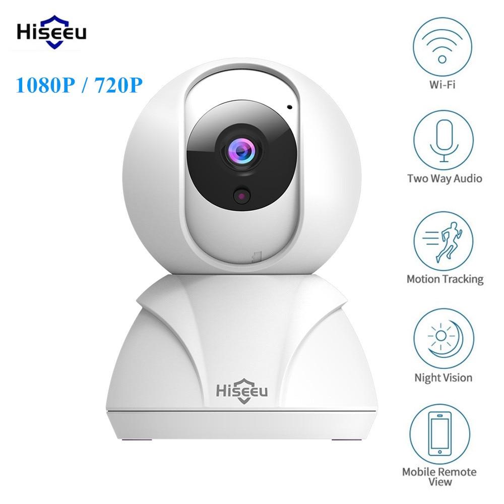 Hiseeu FH3 1080 P/720 P Smart IP Kamera WIFI Automatische Tracking Zwei-weg Audio Nacht Version Hause sicherheit Kamera Baby Monitor