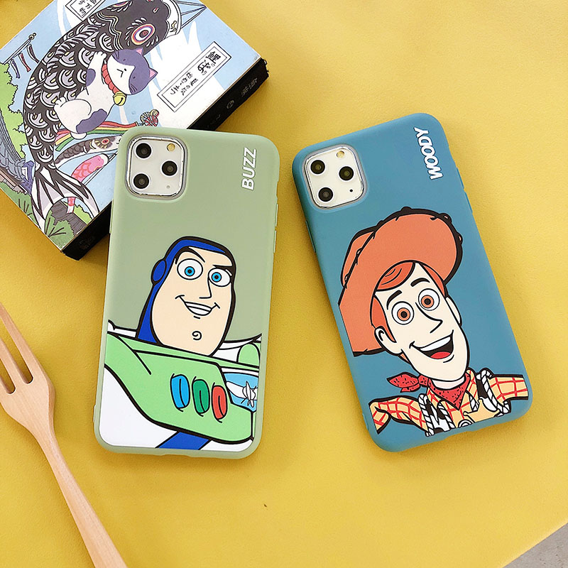 Cartoon <font><b>Toy</b></font> <font><b>Story</b></font> Buzz Lightyear Phone Case For <font><b>iphone</b></font> 11 11pro max Xs MAX <font><b>XR</b></font> X 7 8 plus Candy soft TPU back cover Capa <font><b>Coque</b></font> image