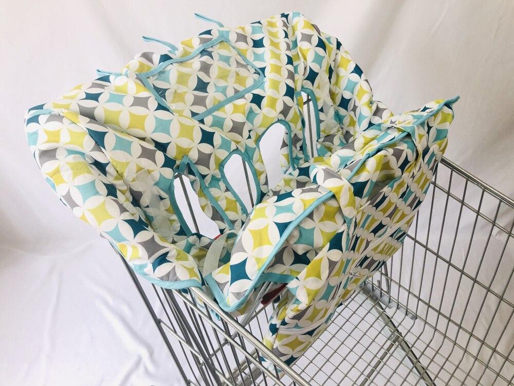 Двойная корзина для покупок для близнецов или детей. Гарантированно подходит для оптовых складских продуктовых магазинов. Такие как Costco