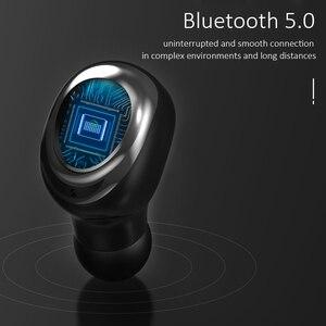 Image 2 - Tws fones de ouvido sem fio bluetooth 5.0 com cancelamento de ruído handsfree led display digital