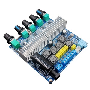 Image 4 - Bluetooth 5.0 TPA3116D2 Subwoofer Amplifier Board 2.1 Channel High Power Audio Stereo Amplifier Board  2*50W+100W DC12V 24V AMP