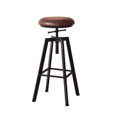 Bar Stool Bar Swivel Chair High Stool Wrought Iron Back Home Bar Stool Modern Minimalist