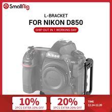 Smallrig Quick Release Plate L Bracket Voor Nikon D850 L Plaat Met Arca Swiss Plaat Voor Camera Foto Schieten 2232