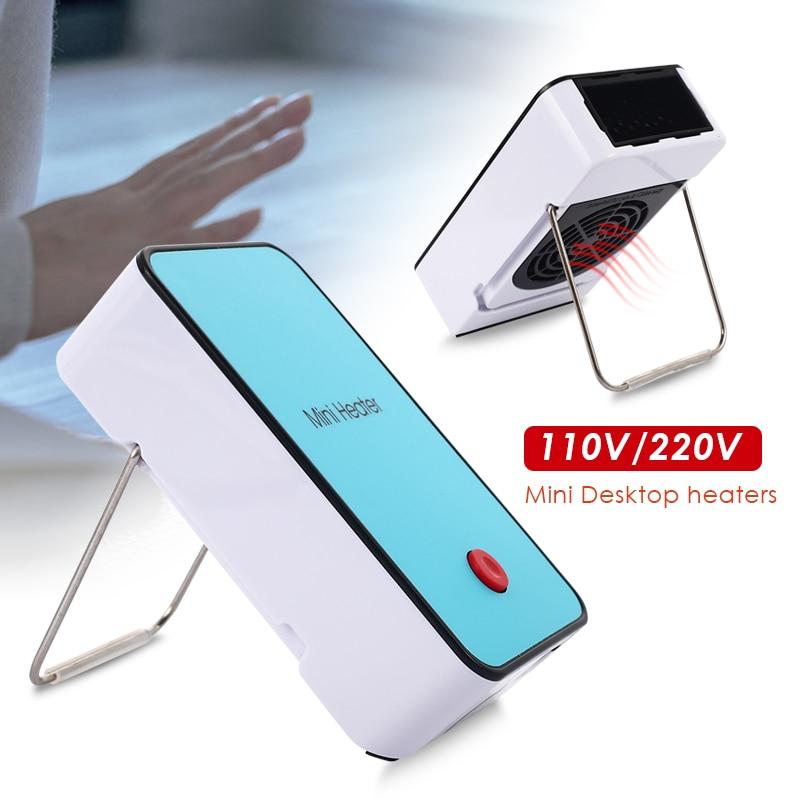 Mini Heater Travel Desktop Office Home Mini Electric Heater Mini Heater 110V / 220V ABS Gift Living Rooms Radiator Air Blower