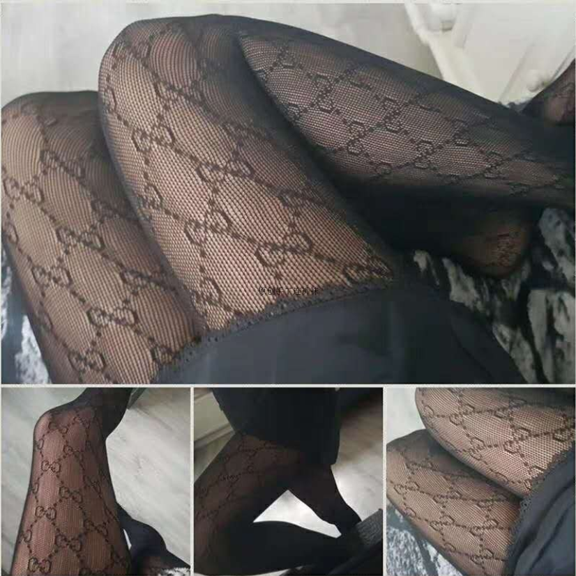 Sexy France Fashion Letters Tights High Flexiable Fish Net Pantyhose Womens Stockings|Tights| - AliExpress