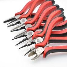 Ювелирные плоскогубцы инструмент и оборудование красная ручка