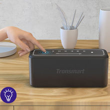 Tronsmart-Altavoz Bluetooth Mega Pro, 60W, portátil, con bajos mejorados, NFC, TWS, impermeable IPX5, asistente de voz