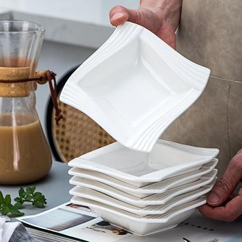 MALACASA Amparo 6-sztuka 5 5 #8222 kości słoniowej biały porcelany chiny ceramiczne krem biały kraft 12 uncji tusz do drukowania w zbóż miski zupy salaterki tanie i dobre opinie CN (pochodzenie) Pigmentowane CE UE Lfgb 6-10 AMPARO-6CB Ekologiczne Stałe 1 2L