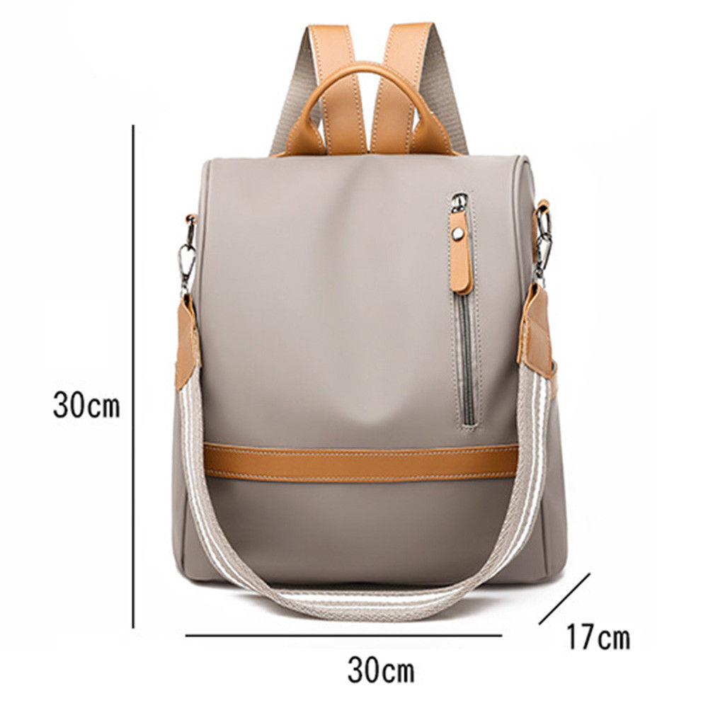 H8be2f20fb10041fb882b45b3b4db5f00m - Fashion Women Waterproof Travel Backpack Anti-theft Oxford Backpack Female School Bags Bagpack For Girls Shoulder Bag