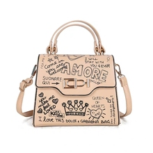 New Shoulder Luxury Letter printing Handbags Woman Bags Designer High Quality Chain Hand Bag Ladies Messenger