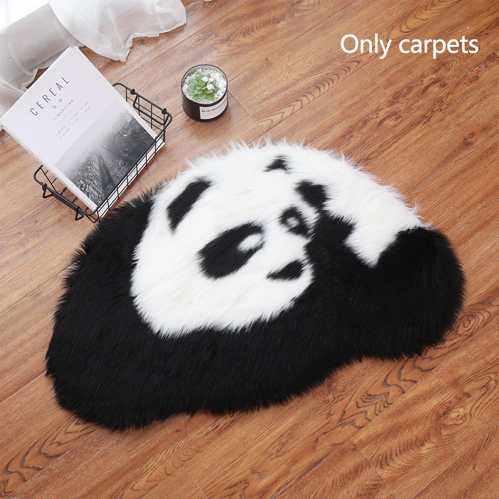 Floor-Mat Panda-Accessories Play-Decoration Bedroom Living-Room Soft Kids Cute Home Plush-Simulate