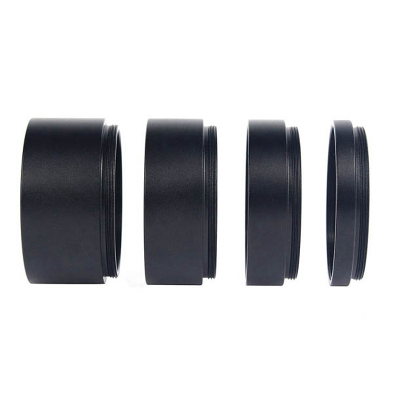 2 Inch/M48-Extension Tube Kit For Cameras And Eyepieces - Length 5Mm 10Mm 15Mm 20Mm - M48X0.75 On Both Sides