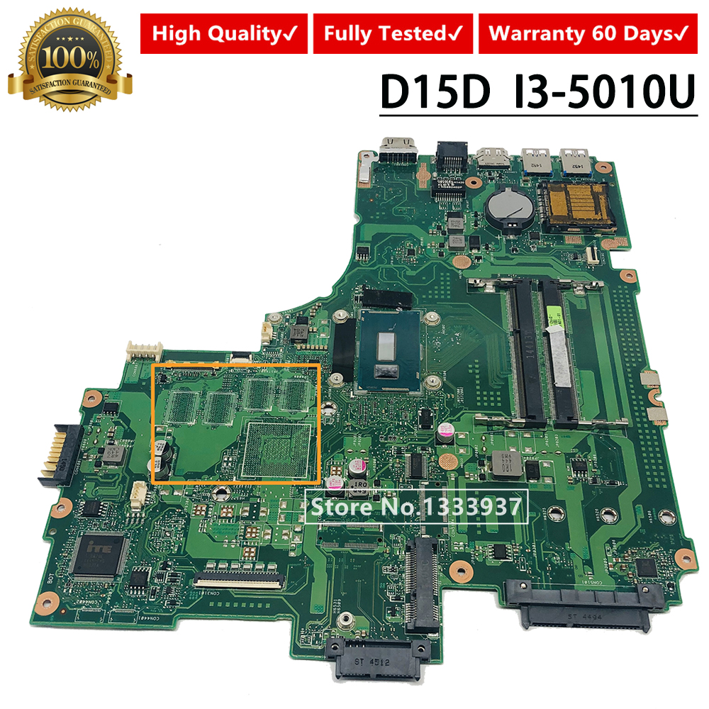 For ASUS PEGATRON D15D Laptop Motherboard REV.2.1 I3-5010U SR23Z Mainboard