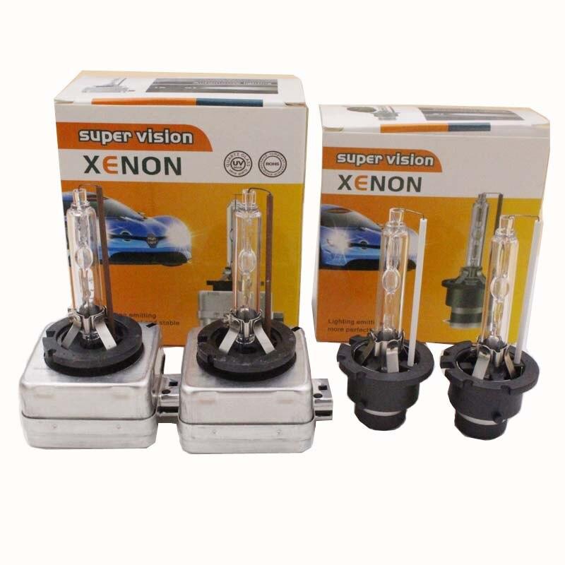 2X Ampoules Xénon D2S 12000K 35W HID