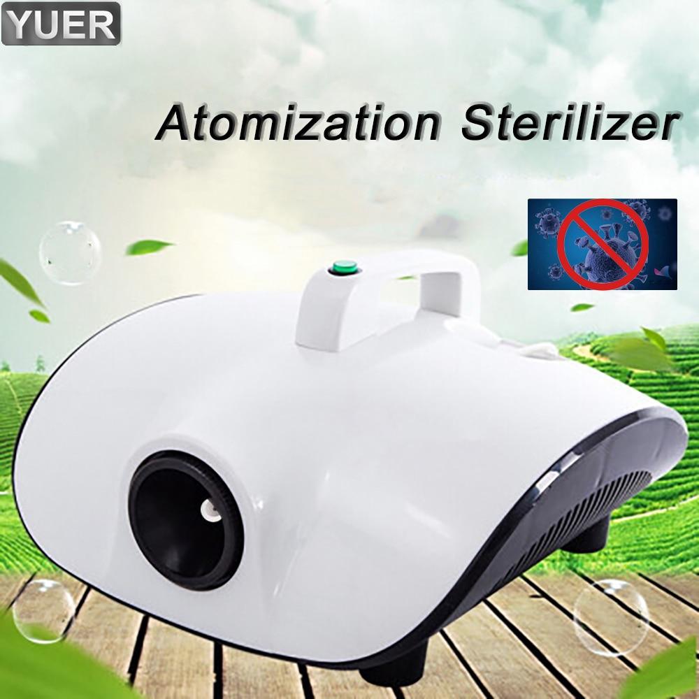 Safe Stable 220V Portable Atomization Sterilizer Kill Virus Remove Peculiar 1500W Fog Machine For Car Room Office Bar Party DJ