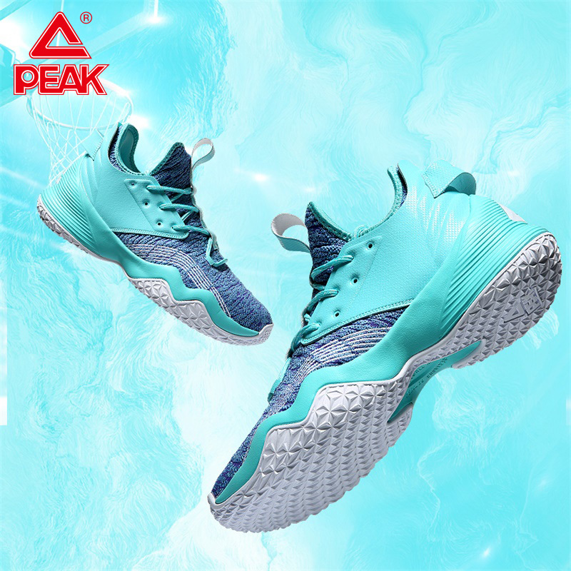 PEAK Men's Basketball Shoes Cushioning Wearable Stable Basketball Sneakers Non-slip Fashion Youth Outdoor Athletic Sports Shoes