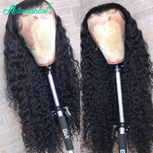 Peluca Frontal de encaje de 360 pelucas de pelo humano de Asteria para mujer negra línea de pelo Pre desplumado con pelo de bebé 10 a 24 peluca de pelo Remy de pulgadas