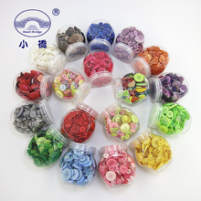 Mixed Color Round Resin Buttons 4 Holes Sewing Buttons Scrapbooking Crafts Garment DIY Apparel Accessories About 250pcs/Box S185