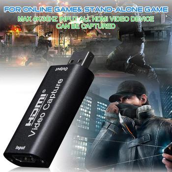 Urządzenie przechwytujące wideo HDMI 1080P 30fps przechwytywanie wideo USB2 0 wideorejestrator Adapter karta przechwytywania wideo odpowiednie Audio i wideo tanie i dobre opinie Arvin