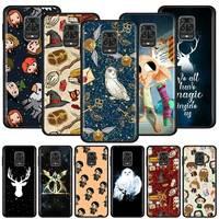 Silikon Fall Für Xiaomi Redmi Hinweis 9 9S 8T 8 Pro 8A 7 7A 9A 9C 9i 6 6A Weiche TPU Back Cover Coque Telefon Tasche Potter Fundas Capa