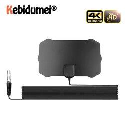 Antenna Amplifier 200 Mile Range Digital TV Antenna Indoor HD Digital 1080p 4K TV Antenna HDTV Signal Receiver Amplifier New