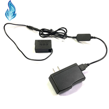 Cable USB de Banco de energía + DMW DCC8 BLC12 BLC12E batería simulada para Lumix DMC GX8 FZ2000 FZ300 FZ200 G7 G6 G5 G80 G81 G85 GH2 GH2K GH2S