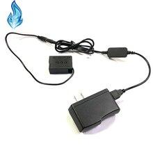 전원 은행 USB 케이블 + DMW DCC8 BLC12 BLC12E 더미 배터리 Lumix DMC GX8 FZ2000 FZ300 FZ200 G7 G6 G5 G80 G81 G85 GH2 GH2K GH2S