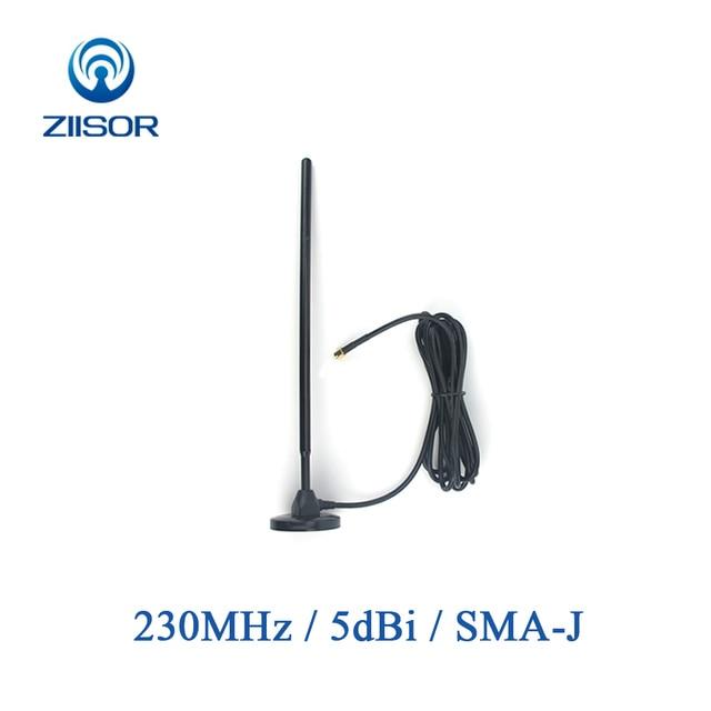 230MHz Antenne met Magnetische Voet 230M Koperen Antenne SMA MALE Omni Antena Draadloze Module DTU Antenne TX230 TB 300