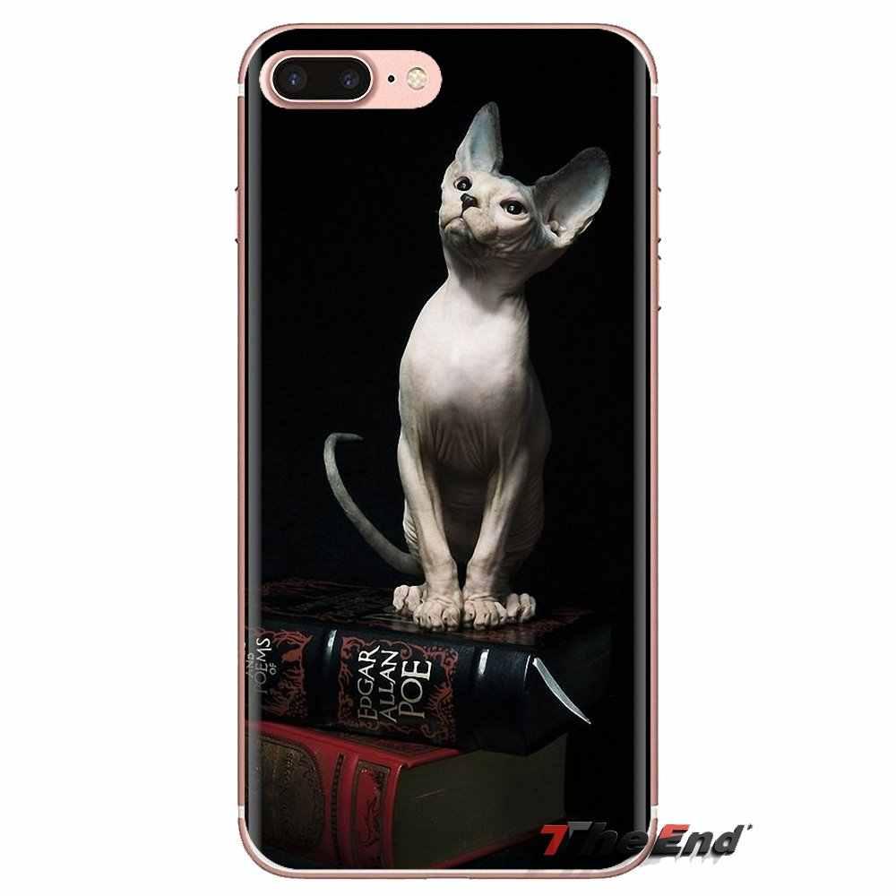 Obudowa silikonowa obudowa do Xiaomi czerwony mi 4 3 3S Pro mi 3 mi 4 mi 4i mi 4C mi 5 mi 5S mi Max uwaga 2 3 4 przyjaznych sphynx kot kitty plakat