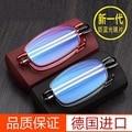 Очки для пресбиопии с защитой от излучения для мужчин и женщин складные очки с защитой от синего света для пожилых людей небольшие Суперпро...